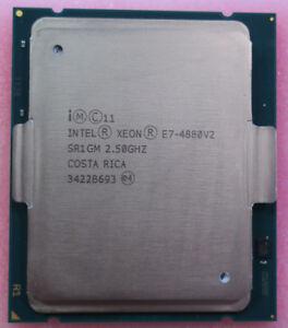 Intel Xeon E7-4880 V2 15-Core 2.50GHz SR1GM LGA2011 37.5MB Cache Processor CPU