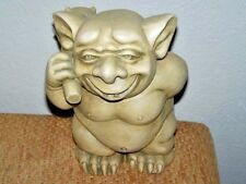 Exceptional Xlg Ceramic Troll - Adorable - Mischievious - Detailed And Quality