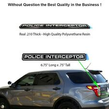 Police Interceptor Emblem BRAND NEW Ford Crown Victoria Explorer SHO Fusion