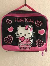 Sanrio Hello Kitty Canvas Girls Lunch Bag/Box