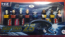 2012~ 25th Anniversary  STAR TREK The Next Generation PEZ Dispensers Exclusive