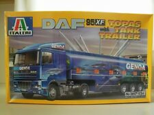 ITALERI - DAF 95 XF WITH TOPAS TANK (TANKER) TRAILER - MODEL KIT (SEALED)