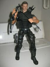 "12"" 13"" MARVEL LEGENDS ICONS HAWKEYE CUSTOM FIGURE JEREMY RENNER AVENGERS MARVEL"
