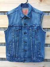 Levi Men's Denim Vest Size Small