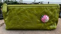 New Brighton Marvels Luckybug Ladybug Palm Cosmetic Pouch