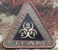 ZOMBIE RESPONSE TEAM ZRT HUNTER OUTBREAK BIOHAZARD FOREST VELCRO® BRAND PATCH