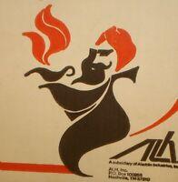 Vintage Aladdin Kerosene Oil Lamp Original Box (Box Only) Nice Display Piece