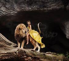 Digital Picture Image Photo Wallpaper JPG Desktop Princess tames a Lion