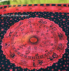 Zodiac Indian Throw Art Tapestry Wall Hanging Hippie Astrology Mandala Bedspread