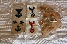 Antique Embroidered Victorian Era Eagle Patch Clothing Dress Trim New Old Stock