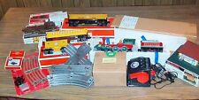 Lionel General Set Locomotive Whistle & Bell Tender CW-80 Track Switches 3 Cars