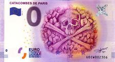 75014 Les Catacombes de Paris 2, 2016, Billet 0 Euro Souvenir