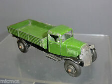 "VINTAGE DINKY TOYS MODEL No.25e TIPPING WAGON   "" DARK GREEN VERSION """