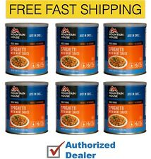 Mountain House Spaghetti w/ Meat Sauce Emergency Food Supply case of 6 cans