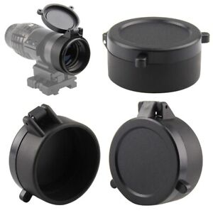 Rifle Scope Lens Cover Flip Up Cap Quick Spring Protection Objective Lens Lid /*