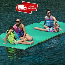 Huge 7 Person Floating Oasis Foam Raft Lake Sea Water Pad Mat - 15' x 6' 1,500 l