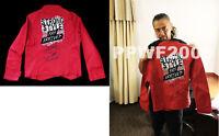 WWE SHINSUKE NAKAMURA HAND SIGNED AUTOGRAPHED JACKET WITH PIC PROOF AND COA RARE