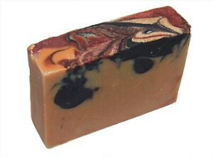 Cranberry Orange Activated Charcoal GM Soap-Palm Free, Natural Org by MJR Soaps