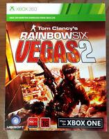 Rainbow Six Vegas + Vegas 2 Xbox 360 / Xbox One download Code *READ DESCRIPTION*