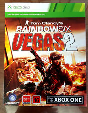 Rainbow Six Vegas + Vegas 2 Xbox 360 / Xbox One download Code *READ DESCRIPTION*