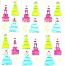 Mrs Grossman's Wedding Cakes Scrapbook Stickers 3 Strips