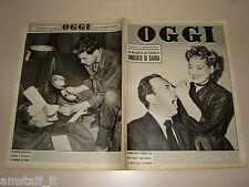 OGGI=1951/15=LAURA DIAZ=PASSIANO=GAETANO MARZOTTO=RONALD RICHTER=JOE DI MAGGIO=