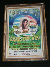 LANA DEL REY - 2018 Australia Tour - LA TO THE MOON - NEW Laminated Tour Poster