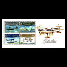 Gibraltar 2010 - Aviation Anniversaries - Sc 1243 MNH