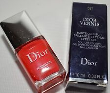 CHRISTIAN DIOR 551 VENTURE NAIL POLISH GEL SHINE LONG WEAR LACQUER 10 ML - NEW