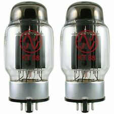 JJ/Tesla KT88 Power Vacuum Tubes Valves, Matched Pair