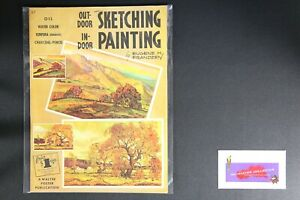 💎ART BOOK PUBLISHED BY WALTER FOSTER OUTDOOR INDOOR SKETCH PAINTING 💎