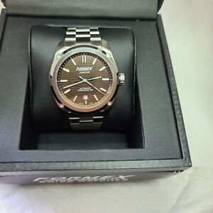 Formex Essence Chronometer COSC Brown dail