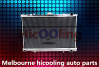 3 Rows 52mm Aluminum radiator for Skyline R32 GTST GTS-T RB20DET manual