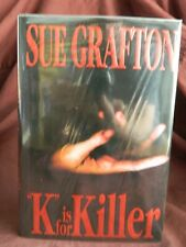 K is for Killer Sue Grafton 1st Edition, 1st Print, Hardcover, 1994