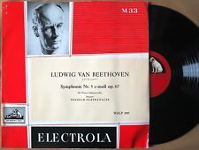 HMV Electrola WALP 1195 Beethoven SYMPHONY No 5 Furtwangler GERMANY 1954 lp