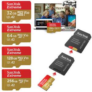 SanDisk ULTRA micro SD Speicherkarte Original 32GB 64GB 128GB 256GB Memory Card