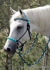 Earthhorse Equipment,tasselled Adjustable sidepull and split reins set