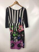 ALBA MODA Damen Kleid, Größe 40, mehrfarbig, auffällig, sehr schick