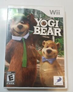 Yogi Bear - Nintendo Wii Game  - Complete
