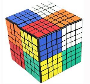 8x8x8 Shengshou black speed magic cube puzzle