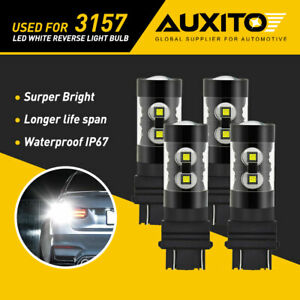 4X AUXITO 3157 3156 50W LED Bulb Reverse Back up Light for Ford Escape Explorer