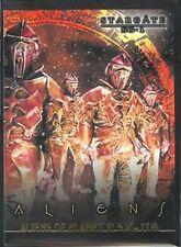 Stargate SG-1 Premiere Stargate Aliens Chase Card X4