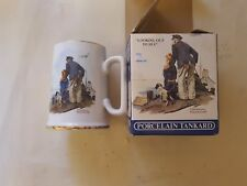 """Norman Rockwell """"Looking out To Sea"""" Porcelain Tankard"""