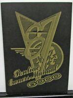 1987 Pontiac Owners Manual 6000 Care & Operation Original