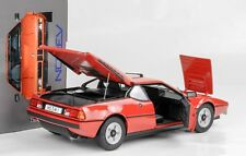 1978 BMW m1 Street Red rouge 1:18 Norev