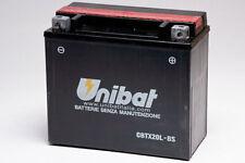 CBTX20L-BS BATTERIA MOTO UNIBAT 18 AH 270 A (EN)  YUASA YTX20L-BS