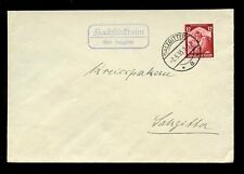 GERMANY 1935 VILLAGE CANCEL + BOXED SALZGITTER