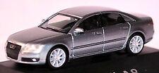 AUDI A8 D3 FACELIFT 2005-07 in pc-showcase Display Box Quartz Grey Metallic 1: