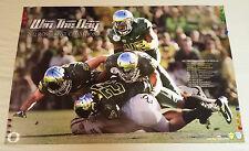 2012 University of Oregon DUCKS Football Season POSTER Schedule 26 x 38 WTD Chip