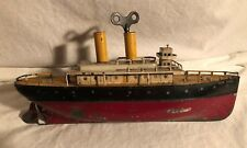Ives Giocattoli New York 34.3cm Scatola Confezione Grande a Carica Antica Barca